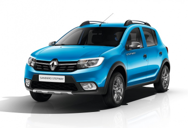 Аренда RENAULT SANDERO STEPWAY 2017 AT, Седан